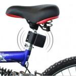 自転車盗難対策におすすめ 振動反応アラーム付きの鍵のご紹介