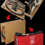 バイクサンドだから実現できる、簡単で安心な画期的輪行!!