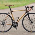 竹製自転車「バンブーバイク」で社会貢献