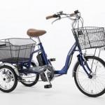 ふるさと納税で電動アシスト3輪自転車、岡山県備前市
