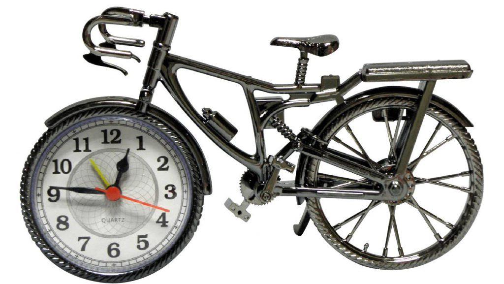 自転車 目覚まし時計